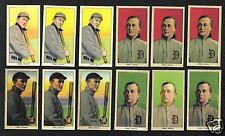 NEW Set of 12 T206 TY COBB REPRINTS with Card Back Variation plus BONUS