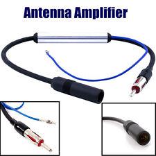 12-24V Antenne Booster Amplifiée Amplificateur Voiture Véhicule Auto Radio FM AM