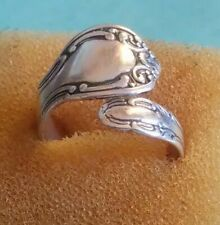 Sterling Silver Spoon Ring -  Ajustable  SIZE UPTO 12