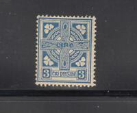 Ireland 1922-23   3 d  cross   Sc 70  LH