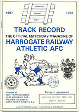 HARROGATE RAILWAY ATHLETIC AFC v OSSETT ALBION 24TH OCT' NORTHERN COUNTIES PREM'