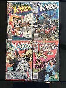 X-Men 172, 190, 216.  New Mutants 13