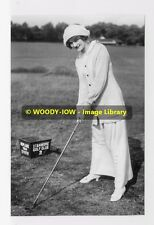rp01928 - Film Actress Lily Elsie at Stanmore Golf Club - photo 6x4