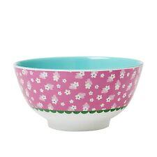 RICE Melamine bowl in pink flower print