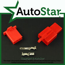 3 Way 2.8mm Mini Connector Kit RED Motorbike Suzuki Motorcycle Pin Connectors