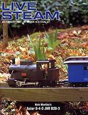 Live Steam V36 N 4 July/August 2002 Nick Wantiez's Aster 0-4-0 JNR B20-3