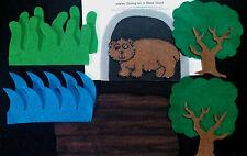 Felt Board/ Flannel story- WE'RE GOING ON A BEAR HUNT -preschool circle time