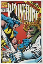 Wolverine #54 (May 1992 Marvel) [Shatterstar] Fabian Nicieza, Darick Robertson p