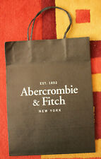 Genuine, Abercrombie & Fitch, Retail Shopping Bag, 30 x 14 x 23cm, Pack of 25