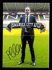 Paul Clement Swansea City 2016-17 ORIGINALE signée + A 158410