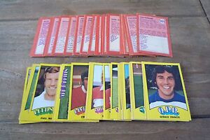 A&BC Orange/Red Backed Football Cards 1974 - VGC! Pick The Cards You Need!
