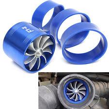 Car Air Intake Turbonator Engine Turbine Super Charger Gas Fuel Saver Single Fan