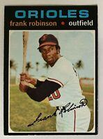 1971 Topps #640 Frank Robinson  EXMT