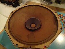 """Phillips AD3800M Vintage Speaker Alnico Magnet 8"""" Full Range Driver 1957"""