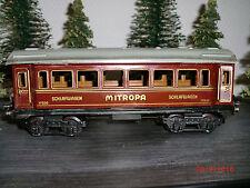 Märklin 1753 Mitropa - Schlafwagen 24,5 cm Topzustand Spur O  # 9