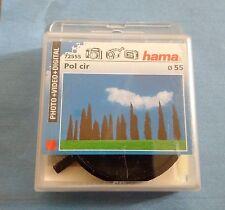 HAMA Filtre Photo video Polarisant Circulaire Diamètre 55 mm