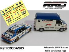 DECAL/CALCA 1/43; Asistencia Citroen C25; Asistencia Bassas Catalunya 1990.