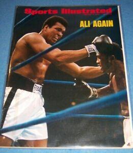 1974 Sports Illustrated MUHAMMAD ALI vs JOE FRAZIER II No Label THE REMATCH N/L