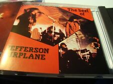 RAR PROMO CD. JEFFERSON AIRPLANE. THE BEST. MADE IN SPAIN. 18 TRACKS. AGOSTINI