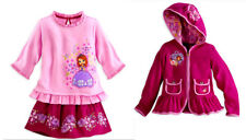 Authentic Disney Store Princess Sofia the First Skirt, Top & Hoodie Set Size 2T