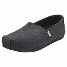 Toms Alpargata Sparkle Glitter Womens Midnight Navy Espadrille Shoes - 6 UK