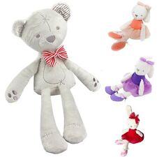 Lovely Soft Bunny Teddy Bear Plush Toys Stuffed Animals Doll for Baby Kids Gift