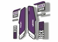 Rock Shox REBA 2015-17 Fork Decal Mountain Bike Cycling Sticker Adhesive Yellow