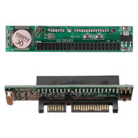 "IDE PATA To SATA Hard Drive Converter Adapter Connector Card 44 Pin Serial 2.5"""