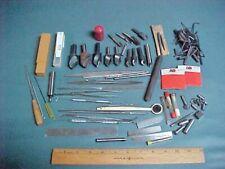 Machinist Tool Box Lot Csinks Files Ez Outs Mini Clamps Cutoff Blades