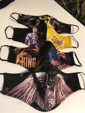 Kobe Lebron Lakers Inspired Face Masks