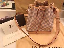 Authentic Louis Vuitton Damier Azur NOÉ BB N41220 - Still New