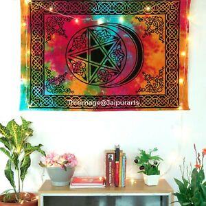Beautiful Design Of Moon & Star Wall Hanging Hippie Mandala Poster Tapestry Art