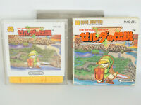 Famicom Disk THE LEGEND OF ZELDA 1 Ref/bbc Nintendo Japan Game dk