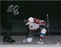 "Nathan MacKinnon Avalanche Signed 11"" x 14"" Celebration Spotlight Photo - LE 29"