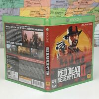 SHIPS SAME DAY Red Dead Redemption 2 (Xbox One, 2018) CASE ONLY - No Game