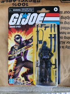 Hasbro  G.I. Joe Retro Collection Snake Eyes Figure on Hand Ready to ship