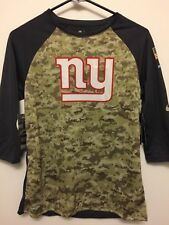 Nike New York Giants Salute to Service STS Raglan Womens Shirt sz L barkley