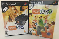 Eye Toy Play 1 & 2  (with USB Camera INCLUDED) PS2 Playstation 2  SEALED NEW