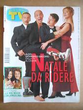 TV SORRISI E CANZONI  n°51 1997 Aldo Giovanni Giacomo Massimo Di Cataldo  [GS49]