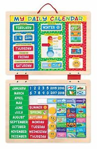 My Magnetic Daily Calendar with 82 Magnets - Melissa & Doug