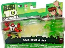 "BEN 10 Omniverse 2"" Four Arms & Ben Cartoon Network New 2012 Factory Sealed"