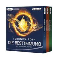 JANIN STENZEL - VERONICA ROTH: DIE BESTIMMUNG (1-3; GESAMTAUSGABE) 3 MP3 CD NEU