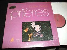 LUCIEN DEIS<>PRIERES<>RARE LP Vinyl~France Pressing<>S.M. 30-825