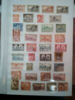 Saargebiet Saar Briefmarken old Stamps Sellos Timbres