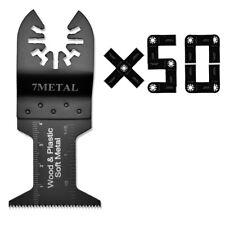 50 Oscillating Multi Tool Wood Saw Blade for PorterCable Dewalt Black+Decker