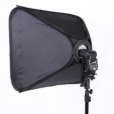 80x80cm Collapsible Flash Speedlite Speedlight Softbox w/Mount Bracket 32x32""