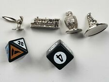 Harry Potter Scene It 1st Edition Replacement Pieces Metal Tokens Dice