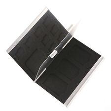 Storage Box Metal Aluminum Micro SD TF MMC Memory Card Protecter Case Holder