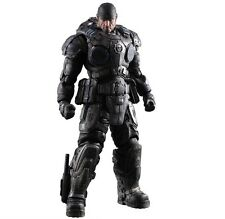 Flawed Box Gears of War Marcus Fenix Play Arts Kai Action Figure