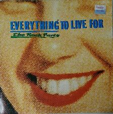 THE ROCK PARTY Everything To Live For Vinyl Lp Record 1986 Aus Press W/Booklet